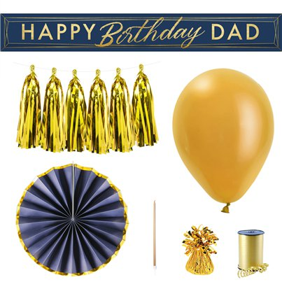 Happy Birthday Dad Decorating Kit