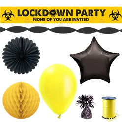 Lockdown Birthday Decorations Kit