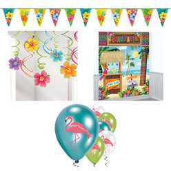 Value Hawiian Summer Decorating Kit