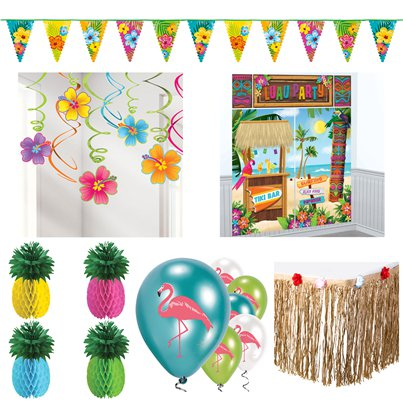 Hawiian Summer Decorating Kit