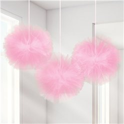 Fluffy New Pink Tulle Decoration