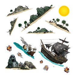 Pirate Ship and Island Add-ons