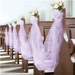 Lilac Tulle Spool - 59m
