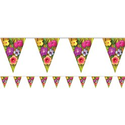 Luau Pennant Banner - 3.66m - Hawaiian Decoration