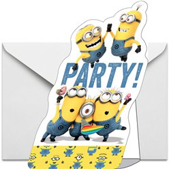 Minions Party Invitations