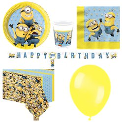 Minions Party Pack - Deluxe Pack for 8