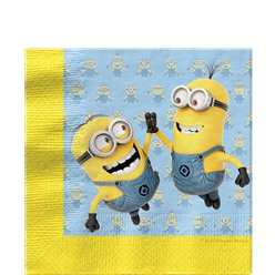 Despicable Me Paper Napkins - 33cm