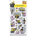 Despicable Me Stickers Fluffy