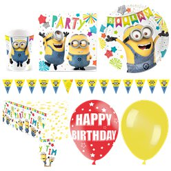 Minions Deluxe Party Pack