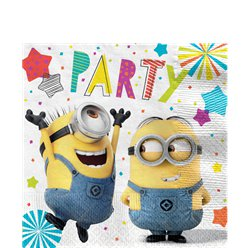 Minions Lunch Napkins - 33cm