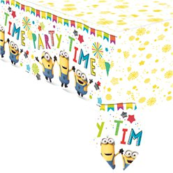 Minions Paper Tablecover-  1.8m x 1.2m