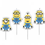 Minions Birthday Candles