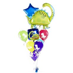 Brontosaurus Balloon Bouquet Kit
