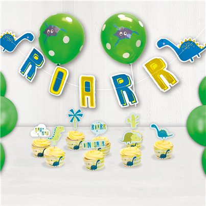 Dinosaur Party Decorating Kit