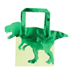 Dinosaur Party Bags 5pk (Dinosaur Accessories)