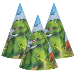 Dinosaur Adventure Party Hats