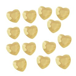 Gold Hearts Table Diamantes