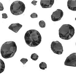 Black Gem Table Diamantes - Assorted