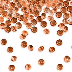 Rose Gold Table Diamantes