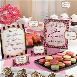 A Day in Paris Buffet Decoration Kit