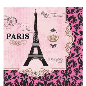 A Day In Paris Party Pack - Deluxe Pack for 16