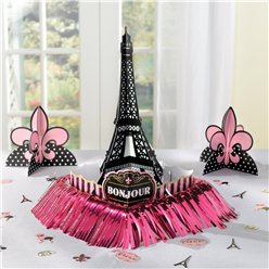 A Day in Paris Table Decoration Kit - 37cm