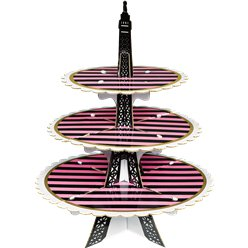A Day in Paris Treat Stand - 3 Tier
