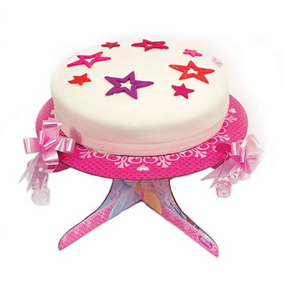 Disney Princess Sparkle Cake Stand - 1 Tier
