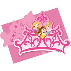 Disney Princess Invites - Party Invitation Cards