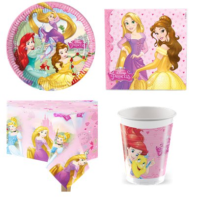 Disney Princess Value Party Pack