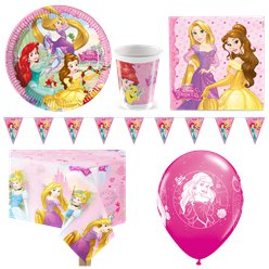 Disney Princess Party Pack - Deluxe Pack for 8