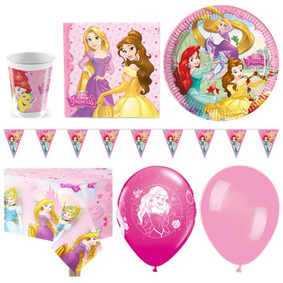 Disney Princess Deluxe Party Pack