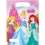 Disney Princess Party Bags - Plastic Loot Bags