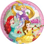 Disney Princess Plates - 23cm Paper Party Plates