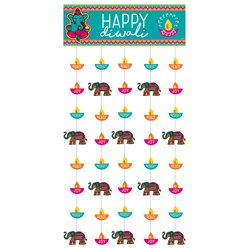 Diwali Door Curtain