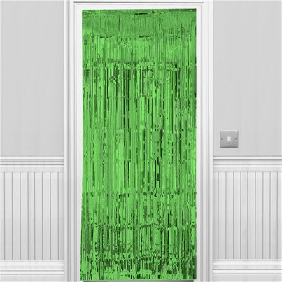 Green Foil Curtain - 2.4m