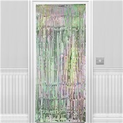 Iridescent Foil Curtain - 2.4m