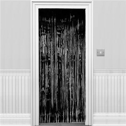 Black Foil Curtain - 2.4m