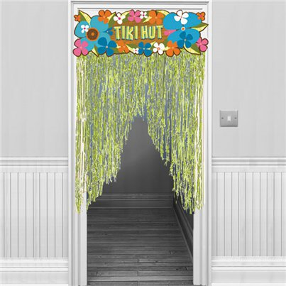 Tiki Hut Door Curtain - 0.9m Hawaiian Decoration