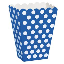 Blue Polka Dot Treat Boxes