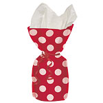 Red Polka Dots Cello Party Bags