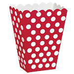 Red Polka Dot Treat Boxes