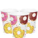 Doughnut Time Paper Cups - 256ml