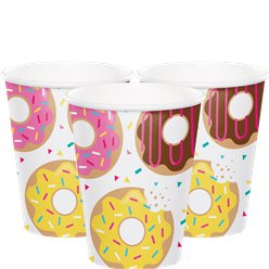 Doughnut Time Paper Cups - 266ml