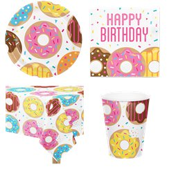 Doughnut Party Pack - Value Pack For 8