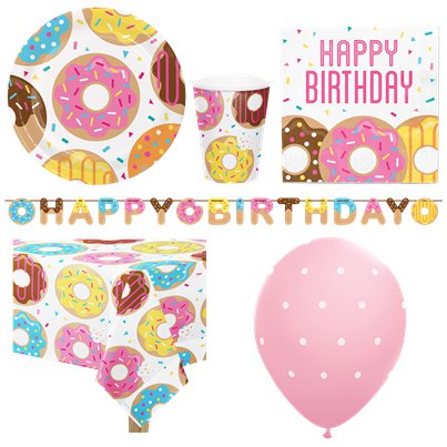 Doughnut Party Pack - Deluxe Pack for 8