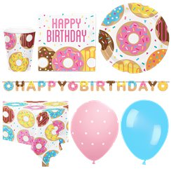 Doughnut Party Pack - Deluxe Pack for 16