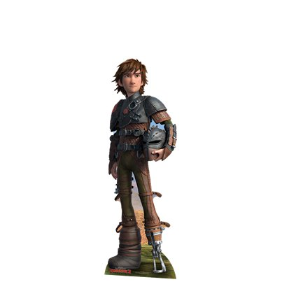 How To Train Your Dragon Hiccup Mini Cardboard Cutout - 95cm x 31cm