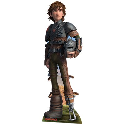 How To Train Your Dragon Hiccup Cardboard Cutout - 1.8m