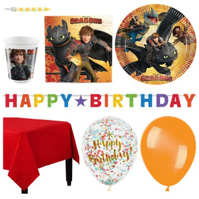 How To Train Your Dragon Deluxe Party Pack